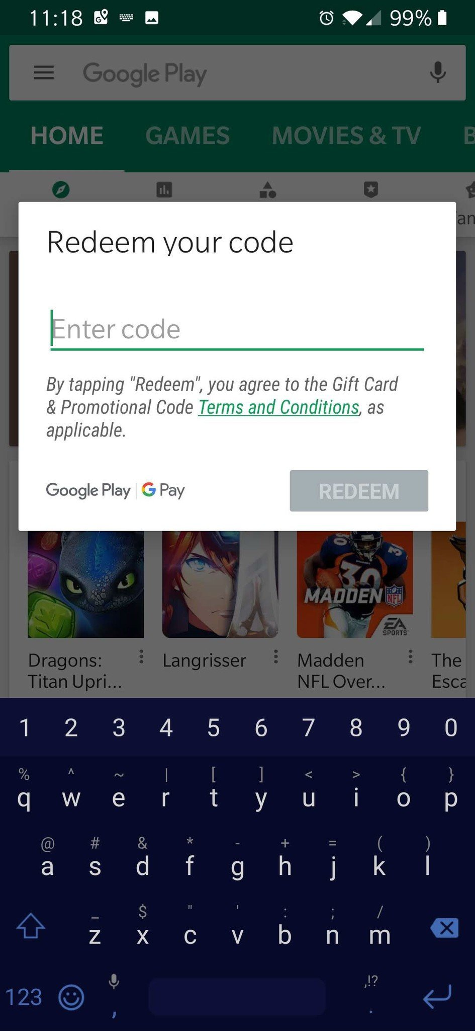 Miles And More Digital Service Card How To Use A Google Play Gift Card Android Central