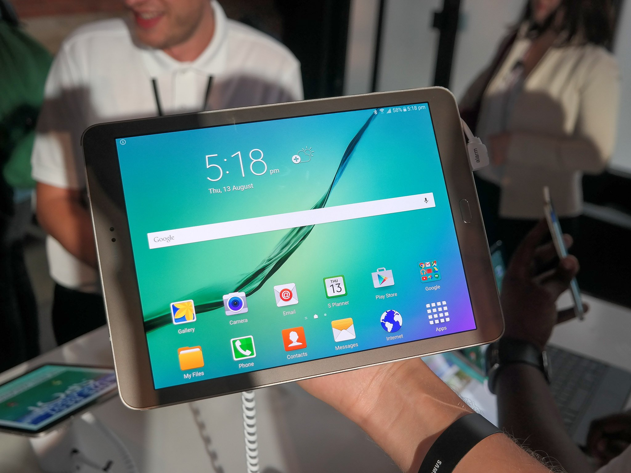 Galaxy Tab 9.7 Great Keyboard Options For The Galaxy Tab S2 9 7 Android Central