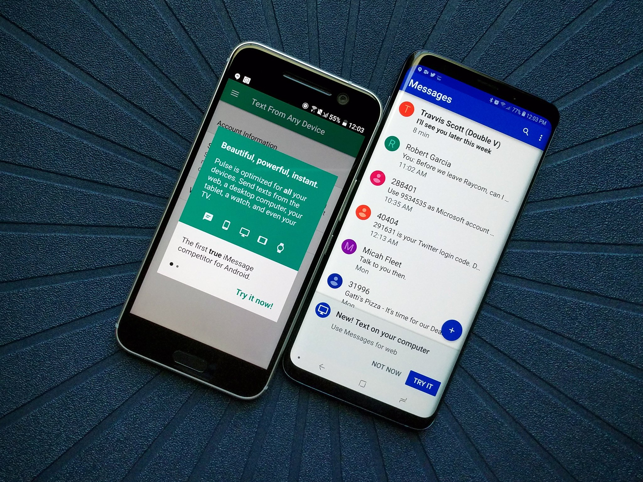 Beste Apps Android Best Text Messaging Apps For Android In 2019 Android Central