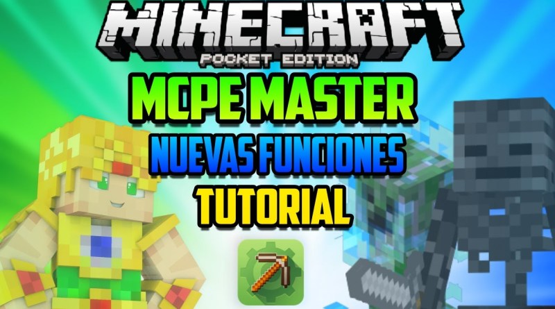 NUEVOS MOBS! – MCPE Master para Minecraft PE – Tutorial y Descarga APK – Apps Para Pocket Edition