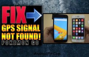 How to Fix GPS Signal Not found on Pokemon Go (Error error on Location Not found)