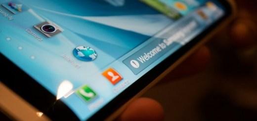 Samsung Wrap-Around Display Smartphone