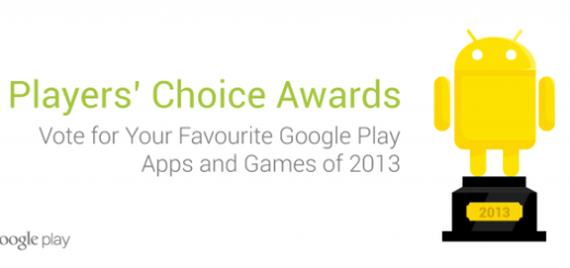 Google Vote 2013 for Best Apps and Games