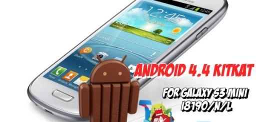 Install CM 11 on Galaxy S3 Mini