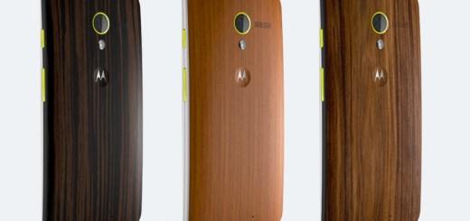 Moto X Gets New Walnut, Teak, and Ebony Wood Finishes