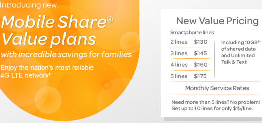 New Mobile Share Value Plan from AT&T