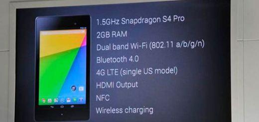 Verizon Nexus 7 LTE – Pricing Details