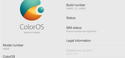 Oppo Find 7a finally Updated to ColorOS 1.2.1i