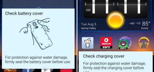 Disable Water Damage Pop-ups on Galaxy S5