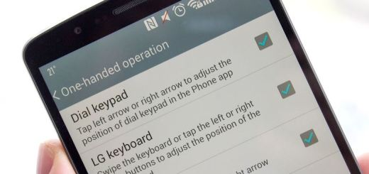 How to Enable One Handed Operation on LG G3
