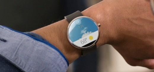 Motorola Moto 360 Round Smartwatch