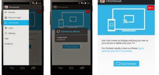 Sony Xperia Z3v, Z2 and Z2 Tablet Added to Google`s Chromecast Mirroring List