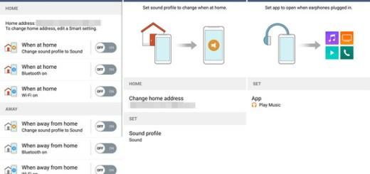 Edit your LG G4 Smart Settings