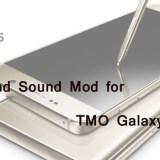 Enjoy Surround Sound on TMO Galaxy Note 5 Build AOGE