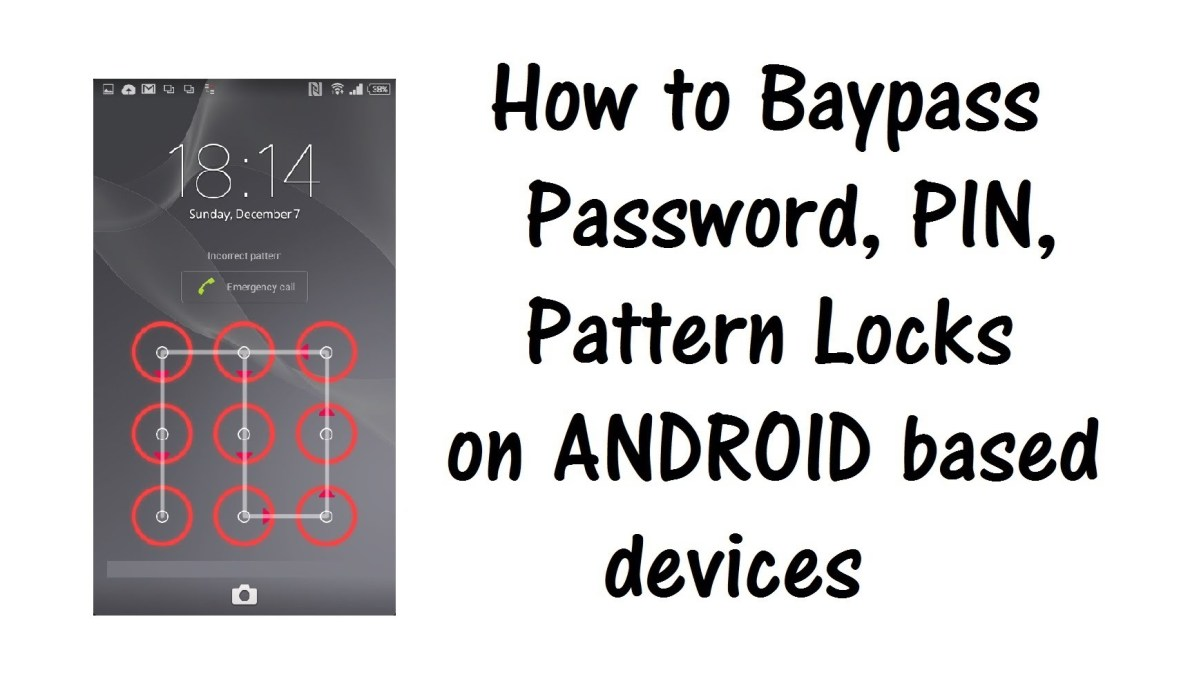 Bypass Android Lock Screen Pattern, PIN or Password on any Android ...