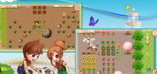 Build a Successful Life in Harvest Moon game, Seeds of Memories for Android