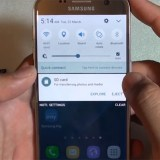 Clear Galaxy S7 MicroSD Notification
