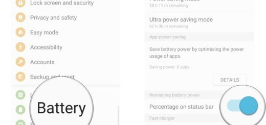 How to Hide Battery Percentage on Galaxy S7