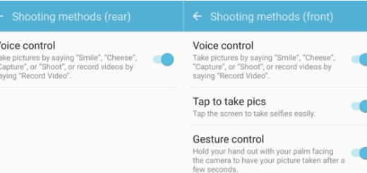 Take Pictures using Galaxy S7 Edge Voice Command