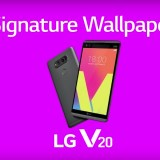 Take LG V20 Signature Wallpapers