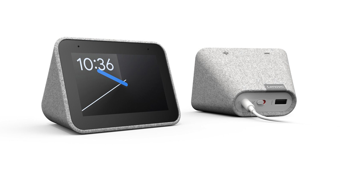 Lenovo Telefoon Lenovo Introduceert Smart Clock Met Google Assistent