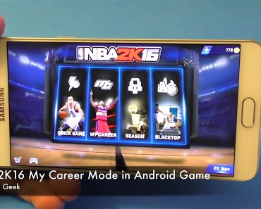 NBA 2K16 My Career Mode in Android Game
