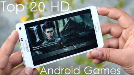 Top 20 Best HD Android Games 2015