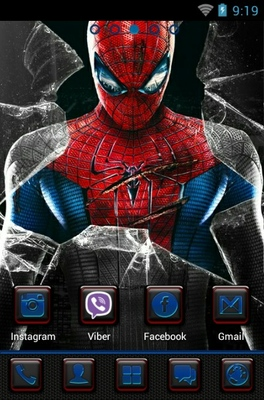 Apk Wallpaper 3d Amazing Spider Man Android Theme For Go Launcher
