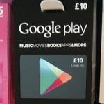Gutscheinkarten für Google Play bereits in Großbritannien erhältlich