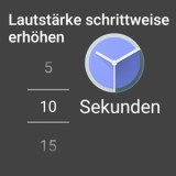 [APK Download] Googles Wecker App 4.2 kann die Lautstärke nun schrittweise erhöhen
