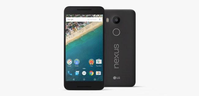 Das Smartphone Nexus 5X dürfte als eines der ersten Geräte das Update auf Android N erhalten. (Foto: LG Electronics)