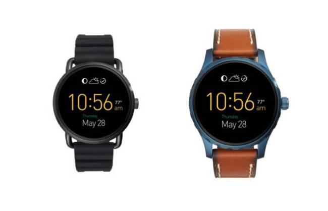 Die Fossil-Smartwatches Q Wander and Q Marshal sollen in diesem Jahr zu Preisen ab 275 US-Dollar auf den Markt kommen. (Foto: Fossil)
