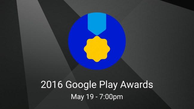 """Im Mai wird Google zum ersten Mal die """"Google Play Awards"""" verleihen – Auszeichnungen für die besten Apps und Spiele im Google Play Store. (Grafik: Google)"""