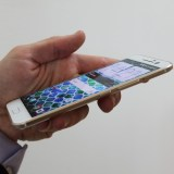 HTC 10 liegt gut in der Hand