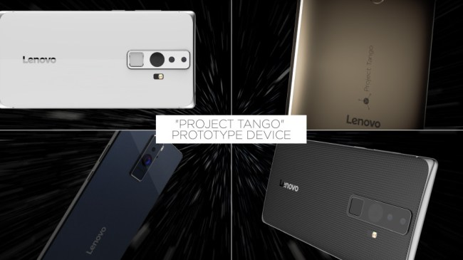 """Ab Sommer dieses Jahres zu haben: das erste """"Project Tango""""-Smartphone – das seine Umgebung so ähnlich wahrnehmen kann wie wir. (Foto: Lenovo)"""
