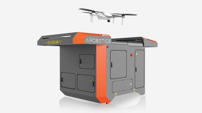 Die Drohnen-Service-Station von Ai Robotics (Foto: Ai Robotics)