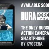 Kyocera stellt mit dem DuraForce PRO das erste Outdoor-Action-Cam Smartphone vor