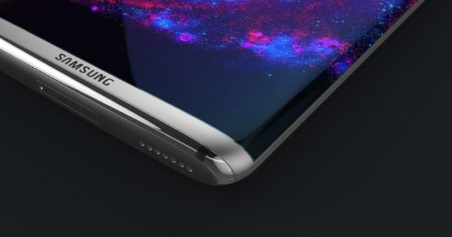 So sieht ein Konzept des kommenden Galaxy S8 des Designers Steel Drake aus. (Bild: Steel Drake)