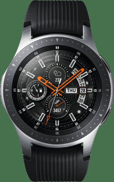 SAMSUNG-Galaxy-Watch-R800-46mm-Bluetooth--silber-(SM-R800NZSAATO)