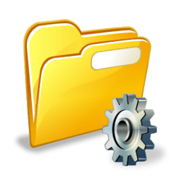 File Manager Logo - Android Picks