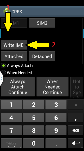 IMEI Instructions