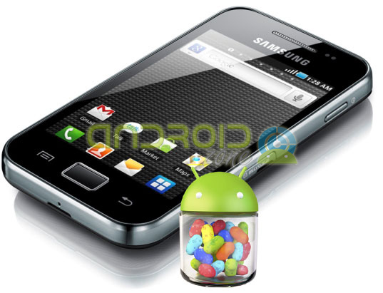 Actualizar Galaxy™ Ace Jelly Bean 412