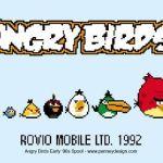 Angry Birds años 90