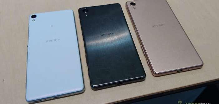 Ya puedes reservar cualquiera de los nuevos smartphones de la serie Xperia X ¿Con cuál te quedas?