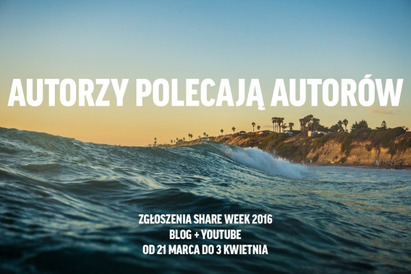share week 2016 swieczek poleca
