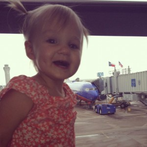 Your child may be excited to fly, but you might not be.
