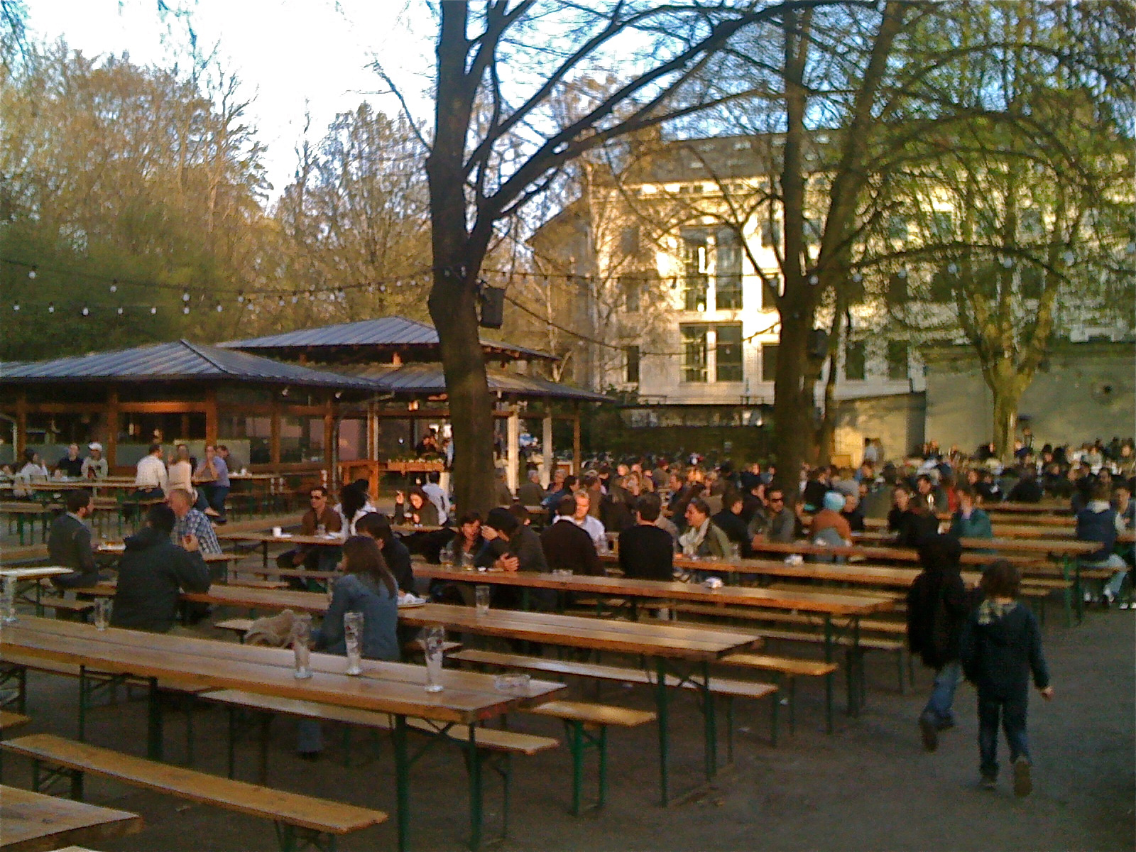 Beer Garten Biergarten Ah How Do You Say