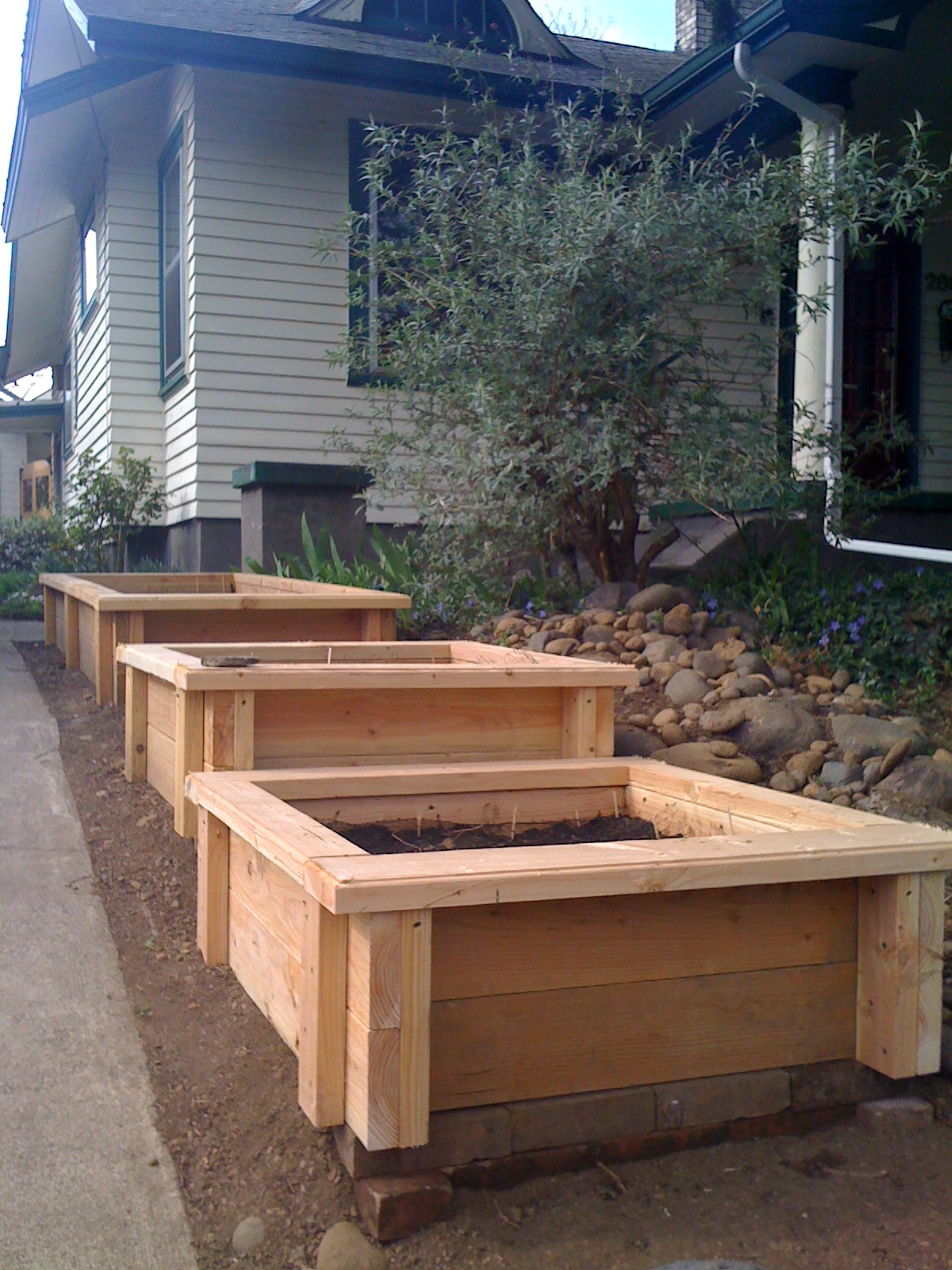 Big Garden Planters Building Planter Boxes Andy Idsinga Make Fix Share Repeat