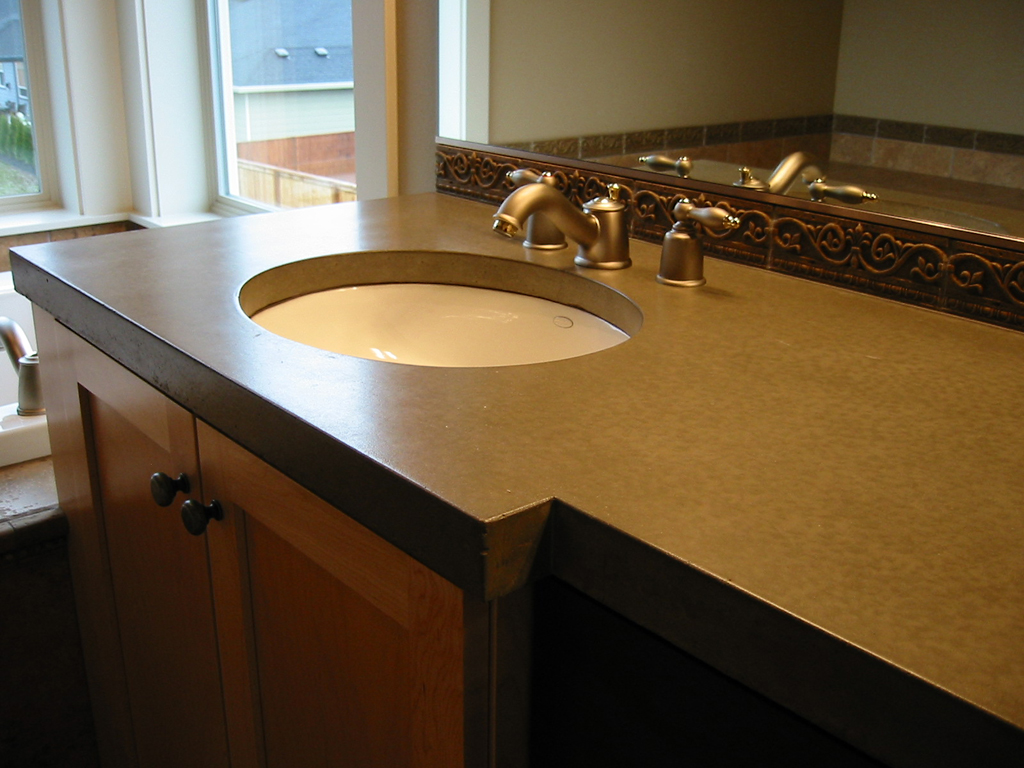 Concrete Countertop Contractors Concrete Countertop 3 Home Construction And Remodel