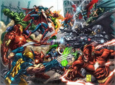 The Difference Between Marvel and DC Comics – Andymatic